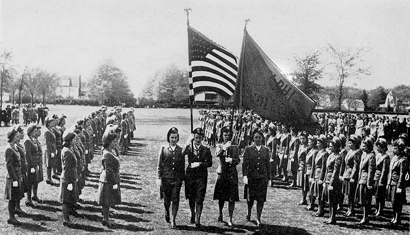 1943 - Adelphi establishes the first Central Collegiate School of Nursing and the U.S. Cadet Nurse Corps in New York State.
