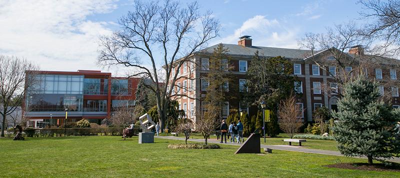 Adelphi University Garden City Campus - Springtime 2017