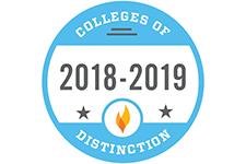 College of Distinction 2018-19